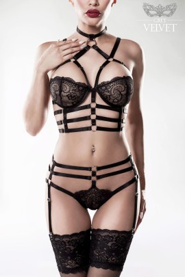 2-teiliges Harness Set - XS/S