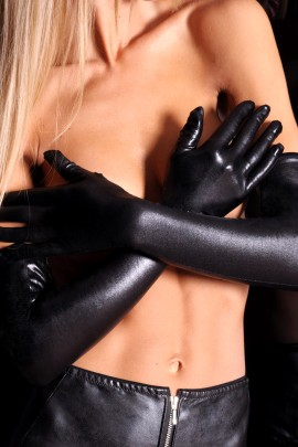 black gloves A0214 by 7-Heaven