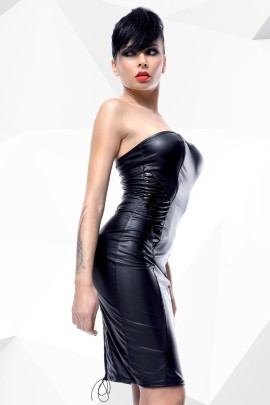 schwarzes Kleid Ellen von Demoniq Hard Candy Collection