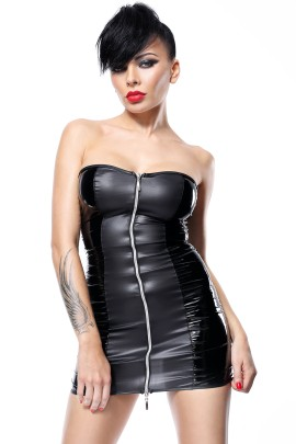 schwarzes Minikleid Greta von Demoniq Hard Candy Collection
