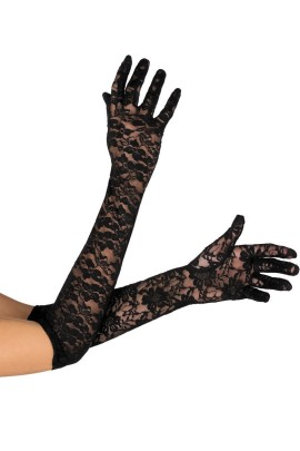 black Gloves G-306 by Excellent Beauty