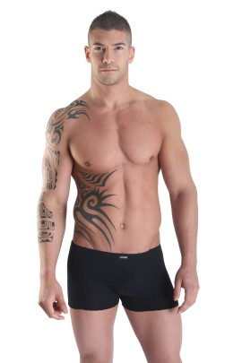 black Boxer Short Sinners by Look Me