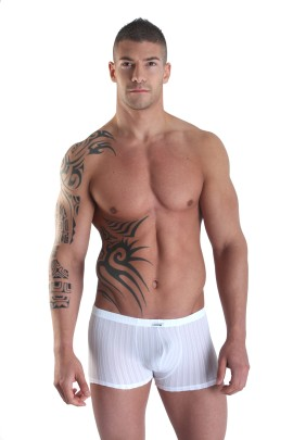 white Boxer Short Sinners by Look Me